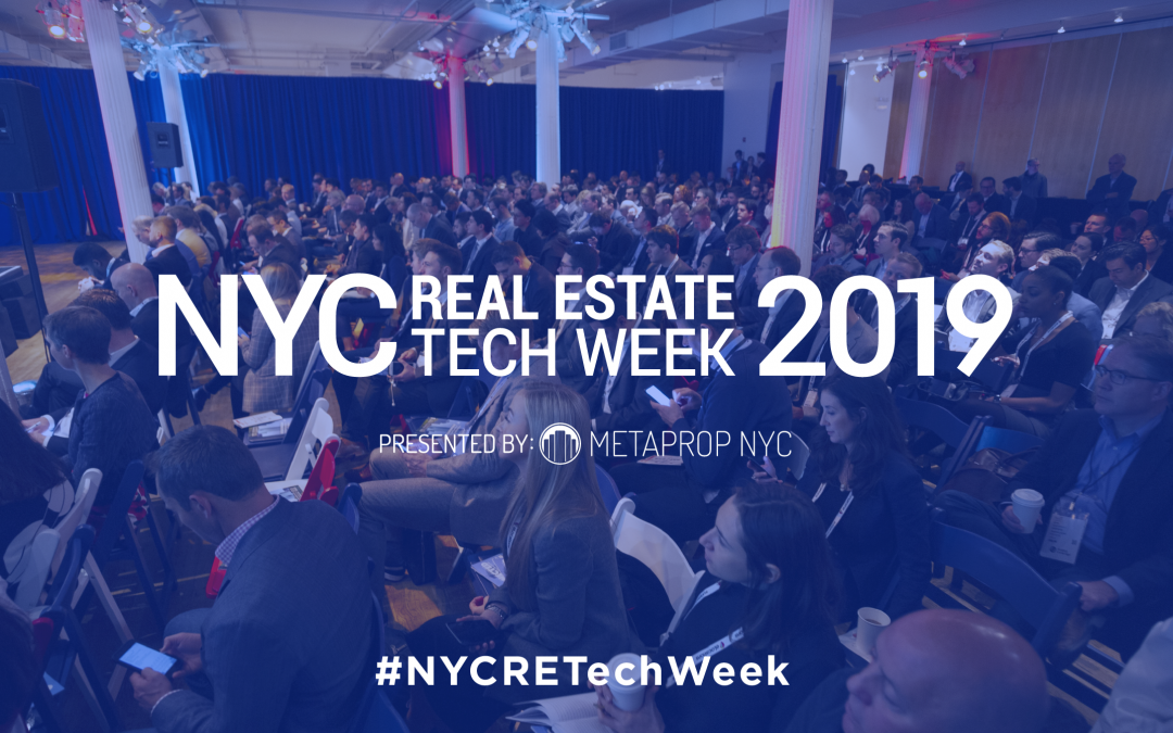 Book your trip – NYC RE Tech Week is coming!
