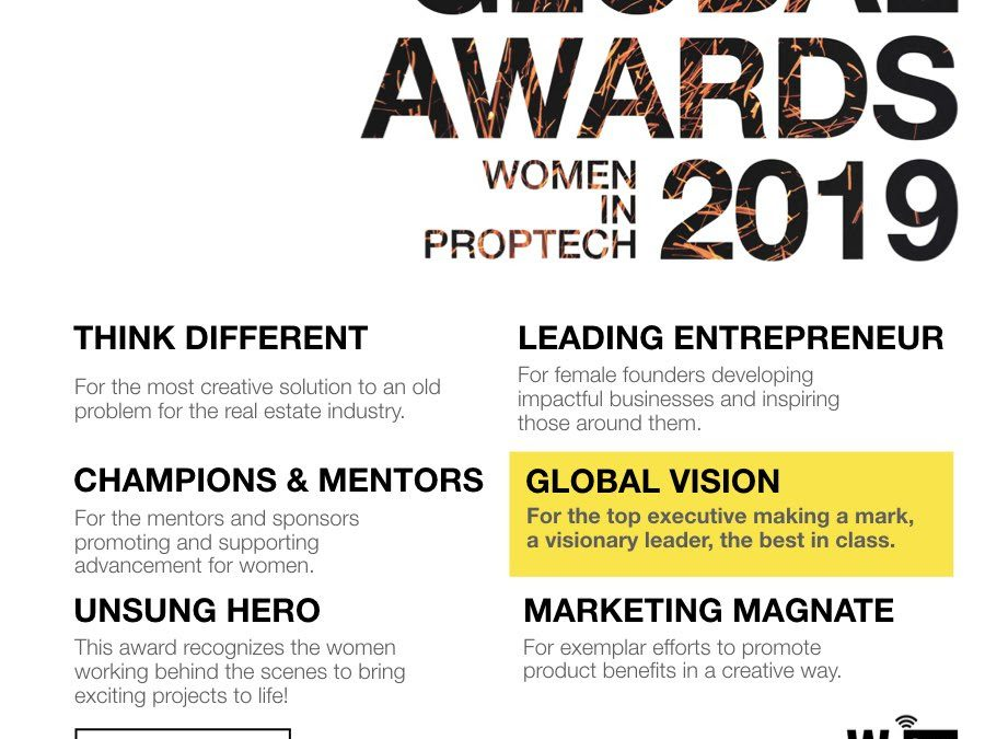 THE WOMEN IN PROPTECH GLOBAL AWARDS