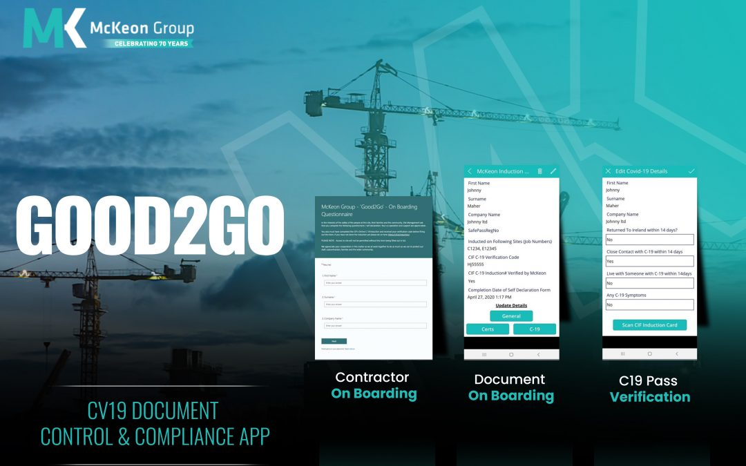 McKeon Group Develops Good2Go Construction App for the Industry